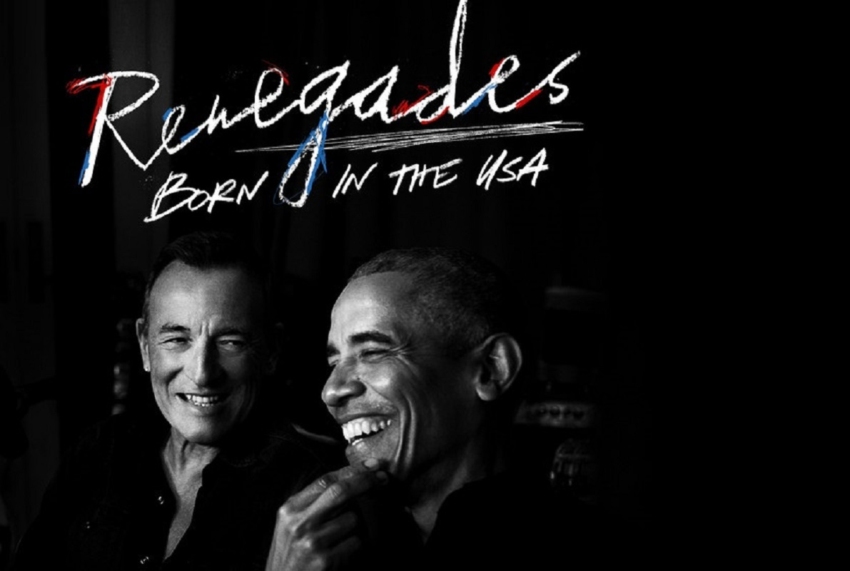 Barack Obama e Bruce Springsteen juntos em podcast